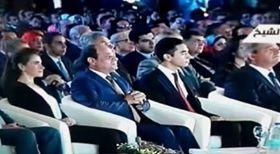 الرئيس السيسي في مؤتمر الشباب