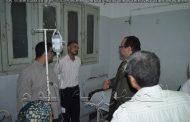نصر:بعد مرور مفاجأ الي مستشفي الرياض يحيل  12 من العاملين للتحقيق