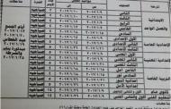 جداول امتحانات نصف العام محافظة الشرقية 2017 ابتدائى واعدادى وثانوى