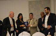 تكريم الدكتور خالد العتر المدير الإقليمي لشعبة المبدعين العرب بمونديال القاهرة للاعلام والفنون ٢٠١٦