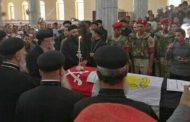سوهاج تودع شهيدها المجند غانم العريان بجنازة شعبية كبيرة بمسقط راسه بالبلينا