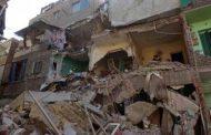مصرع   3 وإصابة 6 اشخاص عقب انهيار منزل في جرجا بسوهاج