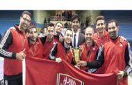 الأهلي يفوز بلقب البطولة العربية للأندية لتنس الطاولة