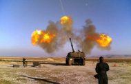القوات التركية تقصف عدد كبير من الاهداف التابعة لداعش