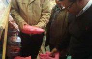 ضبط 400 كجم من حلوى المولد المصنعه بألوان صناعية ضاره بالبلينا بسوهاج