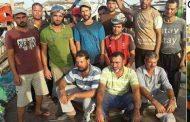 بعد احتجازهم  8 شهور عودة 32 صيادا مصري الي ارض الوطن