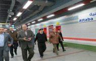 صور..منع دخول المواطنين محطات المترو والسكة الحديد دون خضوعهم لفحص المفرقعات