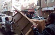 حملة مكبرة لازالة المخالفات بحي شرق بسوهاج