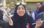 مسلمة تصرخ من امام  تفجير كنيسه الكتدرائية  بالعباسية