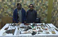 ضبط فلاح وعامل يديران ورشة لتصنيع الأسلحة النارية بالمنيا