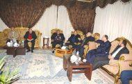 محافظ سوهاج ومدير الامن يلتقون باعضاء مجلس النواب عن سوهاج