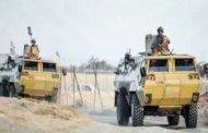 القوات المسلحة تعزز جهودها في قرى جنوب العريش بعد حرق جراج كيرسيرفس