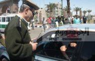 1350 مخالفة مرورية خلال حملة في محافظةالمنوفية اليوم