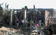 بالصور : انهيار عقار تحت الانشاء بكفر الشيخ