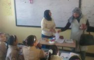 بالصور.. وكيل مديرية تعليم بني سويف تتابع مدارس الفصل الواحد بناصر وبني أحمد بمركز ببا.