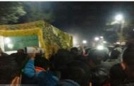 عاجل : تشييع جثمان سائق التوكتوك بالمنوفيه