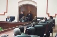 بالصور اجتماع للمجلس التنفيذي للداخلة في أول زيارة  للواء الزملوط محافظ الوادي الجديد