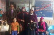 افتتاح معرض المراة قي بلدية المحلة الغربية