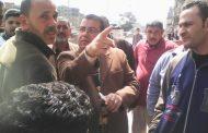 بالصور '''الحفناوي.'' يشن حملة اشغالات مكبرة في محيط مركز كفر البطيخ بدمياط.