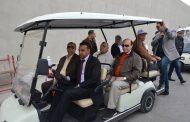 مميش وطاهر يستقبلا أعضاء لجنة الدفاع والأمن القومى بالبرمان خلال زيارتهم للإسماعيلية وتفقد مشروعات الأنفاق الجديدة .