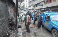 رئاسة حي ثان طنطا تقوم بحملات النظافة المستمرة  و تكثيف أعمال النظافة داخل المدينة. الغربية