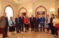 مذكرة تفاهم بين جامعة قناة السويس والجامعة البريطانية فى مجال تعليم ونشراللغة والثقافة الصينية بمصر .
