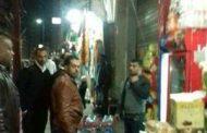 حملة ازالة اشغالات في سيدى بشرالترام وخالد بن الوليد بالأسكندرية