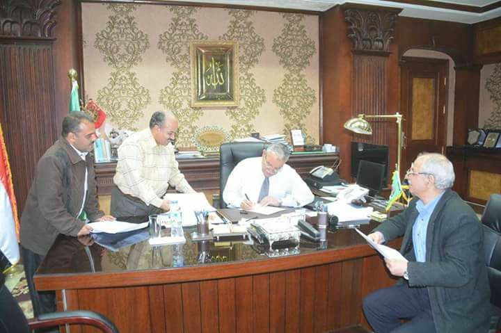 اخيرا وزارة المالية توافق علي تثبيت المؤقتين بالمنيا والمحافظ إعتمد الكشوف اليوم
