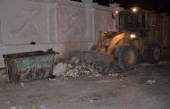 أعمال النظافة مكثفة بأحياء وشوارع الإسماعيلية مع انطلاق الاحتفالات بعيد تحرير سيناء واستضافتها لمؤتمر الشباب 2017 .