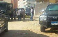 تبادل لاطلاق النيران بين قوات أمن كفر سعد وخلية إرهابية.