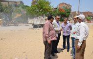 السكرتير العام المساعد لمحافظة الاسماعيلية يقود حملة نظافة مكبرة بمدينة المستقبل السكنية.