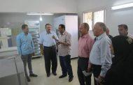 رئيس مدينة: بسيون يتفقد اقسام المستشفي المركزي