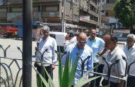 اول زيارة ميدانية ناجحة لرئيس مدينة سمنود