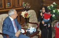 تكريم محافظ شمال سيناء. لمدني يدفع حياته للقبض علي قاتل امين