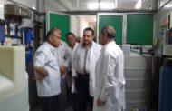 رئيس مدينة سمنود...يزور المستشفى العام