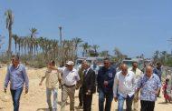 بالصورمحافظ شمال سيناء  يقوم بزيارة تفقدية للمشروعات التنموية