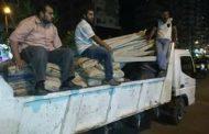 بالصور ...حملة لإيقاف بناء مخالف بنطاق حي المنتزة ثاني الإسكندرية