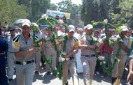 بالصور  : جنازة عسكرية بابوكبير شرقية  لتشييع جثمان شهيد الواجب بسيناء وبمسقط راسه