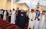 وزير الاوقاف ومحافظ مطروح يفتتحان مسجد ابو بكر الصديق بقرية الجراولة
