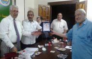 المؤسسة المصرية الوطنية للتنمية وحقوق الإنسان تكرم