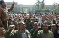 عاجل ...جنرال الغربية ينجح فى انهاء اضراب عمال غزل المحلة الكبرى