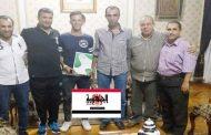 عودة شهاب الدين لصفوف غزل المحله لمدة 3 مواسم