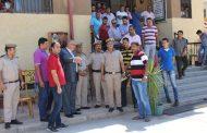 مدير امن دمياط  ولاول مرة  في مصر يتخذ  قرارات حازمة والزامية تجاه ادارة مرور دمياط