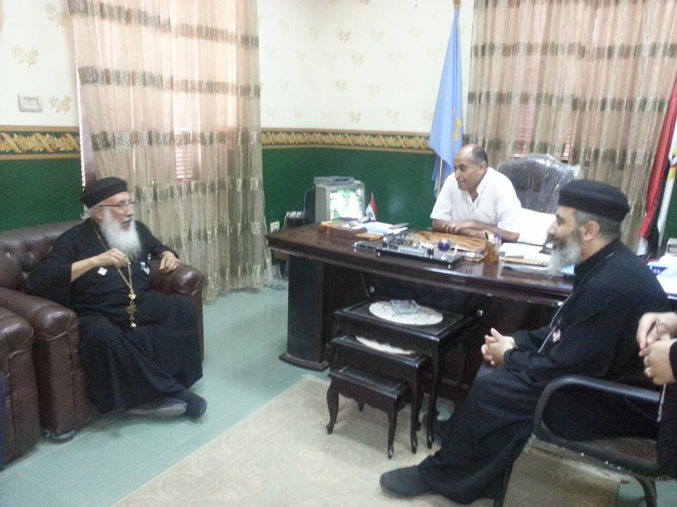 اقباط سمنود : يهنؤن رئيس مدينة سمنود بعيد الاضحى المبارك