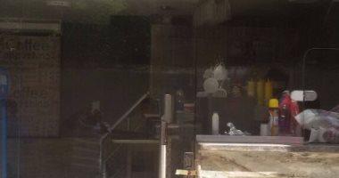 غلق  مقهيين غير مرخصين.. و 3 حملات لإزالة الإشغالات بحي شرق - الاسكندرية