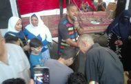 بالصور أشرف رشاد يدخل بهجة العيد بكسفريتي الإسكندرية