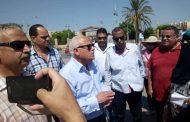 جولة تفقدية لمحافظ بورسعيد لمتابعة سير العمل بمشروع إنشاء كوبري قناة الإتصال وتنفيذ مطالب هيئة مكتب سفراء السلام بمصر