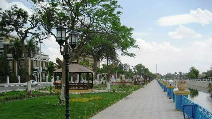 خطة لتطوير وأستعادة الشكل الجمالى والحضارى لشارع محمد على وحدائق الملاحة بالإسماعيلية .