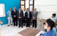محافظ الفيوم يتفقد مدرستي جمال عبد الناصر وعائشة حسانين