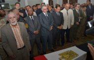 محافظ الغربية والجنرال ....يودعون شهيد مصر اسلام مشهور بالغربية